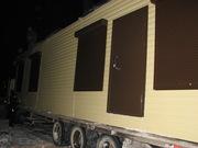 Строительные бытовки,  Бытовки,  вагон-дома на шасси,  модульные офисы.