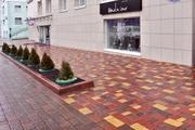 Тротуарная плитка, элементы архитектурного благоустройства