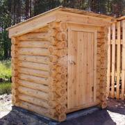 Ни кто не будет спорить, что на дачном участке туалет- постройка необходимая.  Какие только туалеты не строят...
