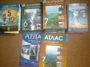 Продам учебники за 5-8классы,  недорого, в хорошем состоянии