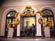Оформление праздников воздушными шарами.