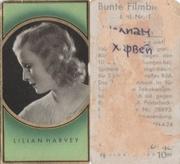 марка ( Briefmarken) артист Лилиан Харвей