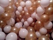 Воздушные шарики с элементами декора!