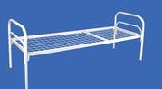 Кровати металлические оптом - для строителей,  рабочих,  общежитий,  лагерей,  турбаз и др