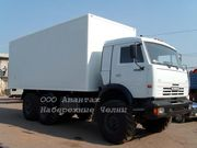 КамАЗ 43118  вездеход-изотермический фургон