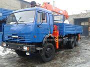КамАЗ 53228 сполноприводный с кму