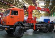 КамАЗ 44108 тягач-вездеход с кму