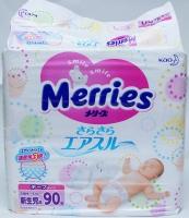 Японские подгузники Merries для новорожденных (90) 850 руб.
