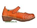 Яркая необычная обувь из Испании мелким оптом