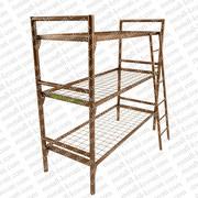 Армейские кровати,  кровати трехъярусные металлические,  оптом кровати.