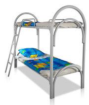 Кровати трёхъярусные для времянок,  кровати металлические двухъярусные