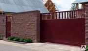 Ворота: продажа и монтаж секционных ворот (РЦП,  электропривод)