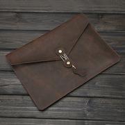 Папка-конверт кожаная